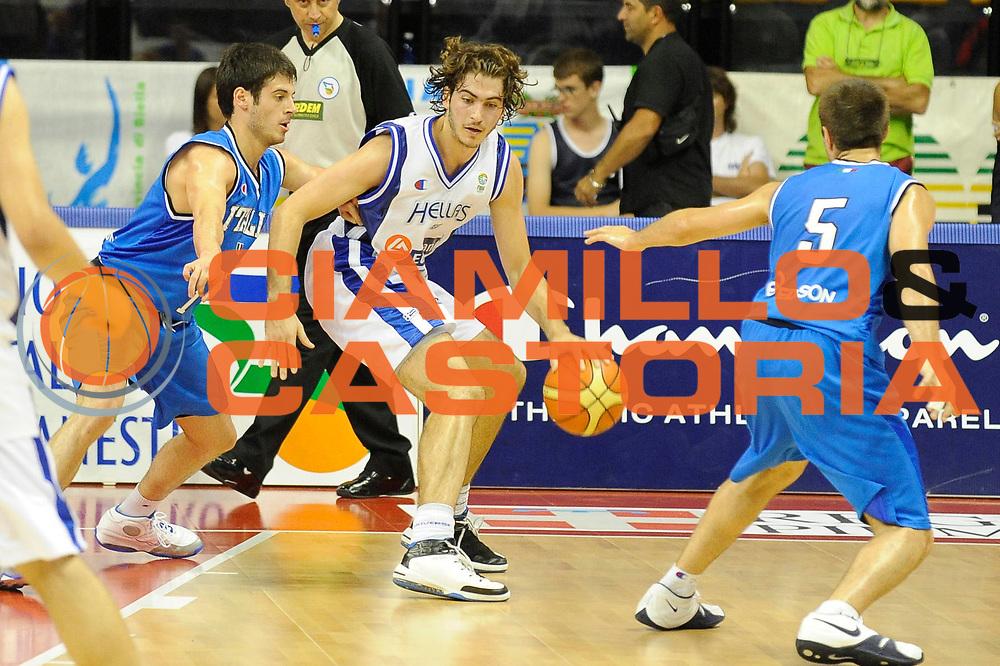 DESCRIZIONE : Biella  Trofeo Internazionale Angelico Nazionale Maschile Italia Grecia<br /> GIOCATORE : Dimitros Kalaitzidis<br /> SQUADRA : Grecia<br /> EVENTO : Trofeo Internazionale Angelico Nazionale Maschile Italia Grecia<br /> GARA : Italia Grecia<br /> DATA : 19/06/2009 <br /> CATEGORIA : palleggio <br /> SPORT : Pallacanestro <br /> AUTORE : Agenzia Ciamillo-Castoria/G.Ciamillo