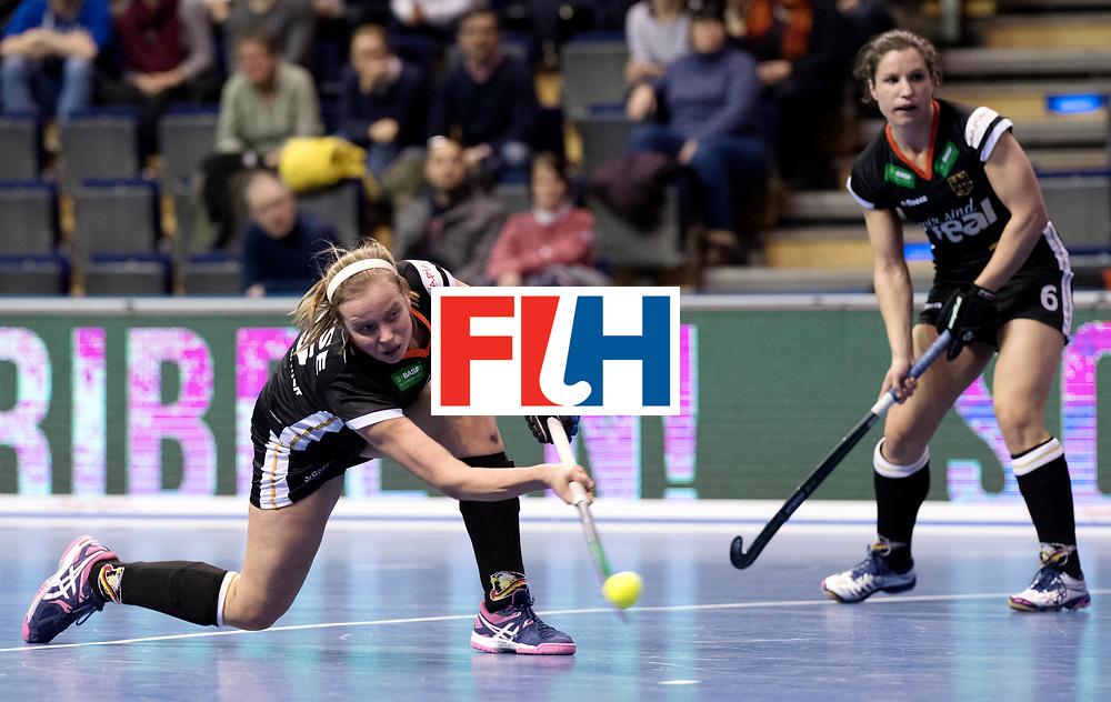BERLIN - Indoor Hockey World Cup<br /> Women: Germany - Namibia<br /> foto: HUSE Viktoria.<br /> WORLDSPORTPICS COPYRIGHT FRANK UIJLENBROEK