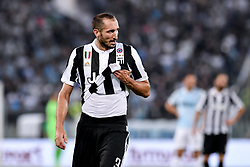 August 13, 2017 - Rome, Italy - Giorgio Chiellini of Juventus during the Italian Supercup Final match between Juventus and Lazio at Stadio Olimpico, Rome, Italy on 13 August 2017. (Credit Image: © Giuseppe Maffia/NurPhoto via ZUMA Press)