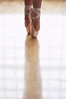 Ballerina Standing en Pointe
