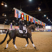 Venue at the FEI World Cup Finals in Omaha, Nebraska.