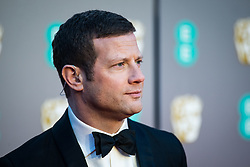 Dermot O'Leary attending 72nd British Academy Film Awards, Arrivals, Royal Albert Hall, London. 10th February 2019
