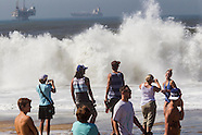 Big waves hits Southern California 2014