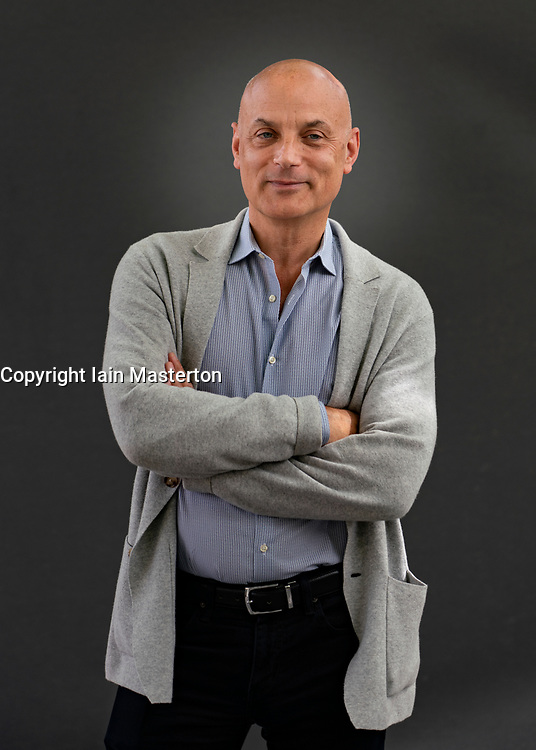 Edinburgh, Scotland, UK. 23 August 2019.  Daniel Mendelsohn.   Daniel Mendelsohn follows up his much-lauded book An Odyssey with The Bad Boy of Athens., ranging from Homer to Knausgaard, he shows how art from across the ages shapes our contemporary lives. Iain Masterton/Alamy Live News.