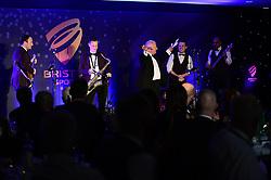 Steve Lansdown speaks during the Bristol Sport annual Gala Dinner at Ashton Gate Stadium - Mandatory by-line: Dougie Allward/JMP - 14/12/2017 - Sport - Ashton Gate - Bristol, England - Bristol Sport Gala Dinner