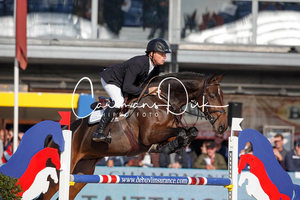Greve Willem, (NED), Formidable<br /> FEI World Breeding Jumping Championships<br /> Lanaken 2015<br /> &copy; Hippo Foto - Dirk Caremans<br /> 20/09/15
