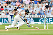 Virat Kohli (captain) of India turns and dives for his crease to prevent being run out during second day of the Specsavers International Test Match 2018 match between England and India at Edgbaston, Birmingham, United Kingdom on 2 August 2018. Picture by Graham Hunt.