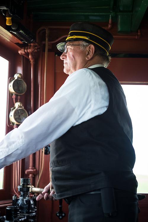 Cliff Baumer, Volunteer Conductor | Western Railway Museum | April 16, 2014