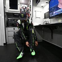 February 18, 2017 - Daytona Beach, Florida, USA: The Monster Energy NASCAR Cup Series teams takes to the track for the Advance Auto Parts Clash at Daytona at Daytona International Speedway in Daytona Beach, Florida.