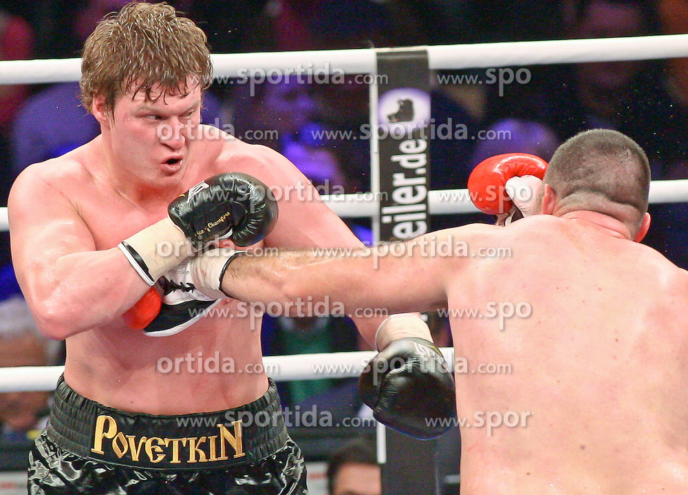 18.12.2010, Max-Schmeling-Halle Berlin, GER, Heavyweight, Nicolai Firtha (USA) vs Alexander Povetkin (RUS) EXPA Pictures © 2010, PhotoCredit: EXPA/ nph/  Hammes       ****** out ouf GER ******