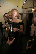 GRAYSON PERRY, Literary Review's Bad Sex In Fiction Prize.  In & Out Club (The Naval & Military Club), 4 St James's Square, London, SW1, 29 November 2006. <br />Ceremony honouring author who writes about sex in a 'redundant, perfunctory, unconvincing and embarrassing way'. ONE TIME USE ONLY - DO NOT ARCHIVE  © Copyright Photograph by Dafydd Jones 248 CLAPHAM PARK RD. LONDON SW90PZ.  Tel 020 7733 0108 www.dafjones.com