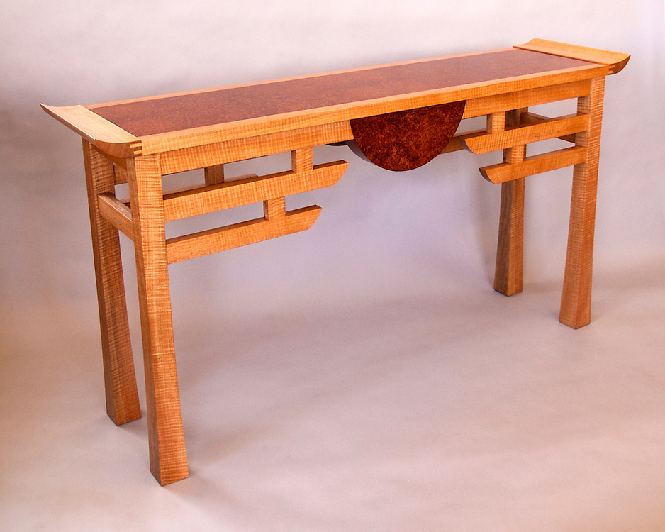 Anigre hall table<br />