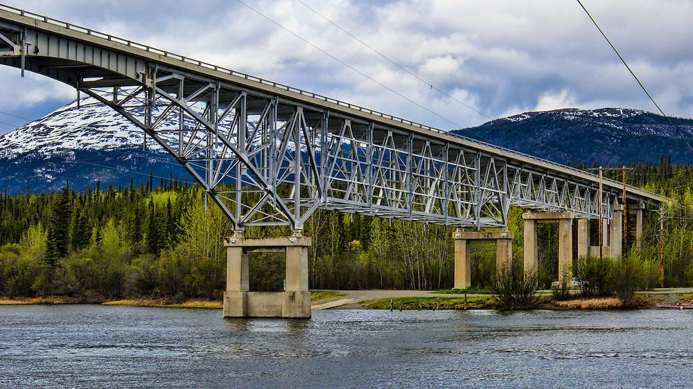 Yukon, Canada.Kilometer Mark 1295.2012 Milepost Pg 171