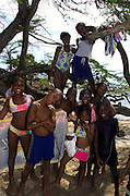 Jakes Hotel - Local children on Teasure Beach - Jamaica