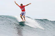 November 1st 2010: Mitch Surrman of Australia during the trails for the ASP World Longboard Championship at Makaha Oahu-Hawaii. Photo by Matt Roberts/mattrIMAGES.com.au