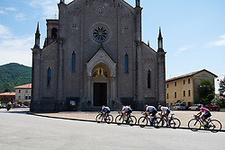 Cervélo Bigla set the pace of the peloton at Giro Rosa 2018 - Stage 10, a 120.3 km road race starting and finishing in Cividale del Friuli, Italy on July 15, 2018. Photo by Sean Robinson/velofocus.com