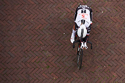 Floortje Mackaij (NED) at Boels Ladies Tour 2018 - Prologue, a 3.3 km time trial in Arnhem, Netherlands on August 28, 2018. Photo by Sean Robinson/velofocus.com