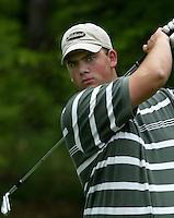 MOLENSCHOT - Joes van Uden.    Voorjaarswedstrijd golf 2003 op GC Toxandria. . COPYRIGHT KOEN SUYK