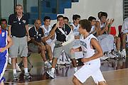DESCRIZIONE : Chieti Termosteps U16 European Championship Men Preliminary Round Italy Czech Republic<br /> GIOCATORE : Antonio Bocchino<br /> SQUADRA : Nazionale Italiana Uomini U16<br /> EVENTO : Chieti Termosteps U16 European Championship Men Preliminary Round Italy Czech Republic Campionato Europeo Maschile Under 16 Preliminari Italia Repubblica Ceca<br /> GARA : Italy Czech Republic<br /> DATA : 17/08/2008 <br /> CATEGORIA : <br /> SPORT : Pallacanestro <br /> AUTORE : Agenzia Ciamillo-Castoria/M.Marchi<br /> Galleria : Europeo Under 16 Maschile<br /> Fotonotizia : Chieti Termosteps U16 European Championship Men Preliminary Round Italy Czech Republic<br /> Predefinita :