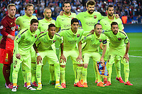 Equipe Barcelone - 15.04.2015 - Paris Saint Germain / Barcelone - 1/4Finale Aller Champions League<br />