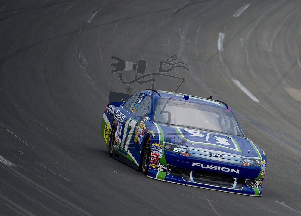 Sparta, KY - JUN 29, 2012: Matt Kenseth (17) during qualifying for the Quaker State 400 at Kentucky Speedway in Sparta, KY.