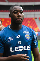 Yakou Meite  during the French Ligue 2 match between Quevilly Rouen and Sochaux at Stade Robert Diochon on August 4, 2017 in Rouen, France. (Photo by Philippe Le Brech /Icon Sport)
