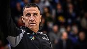 Roberto Begnis<br /> Banco di Sardegna Dinamo Sassari - Sidigas Scandone Avellino<br /> Legabasket serie A LBA PosteMobile 2017/2018<br /> Sassari, 02/01/2018<br /> Foto L.Canu / Ciamillo-Castoria
