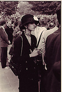 Petronella Wyatt, Arc de Triomph, Paris, 1986.