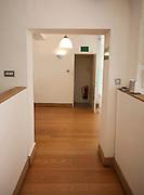 Empty doorway in office