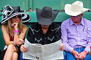 May 5, 2012 - Infield scenes from the Kentucky Derby 2012 in Louisville Kentucky. © Jamey Price / Getty Images. IMAGE NOT AVAILABLE FOR SALE.