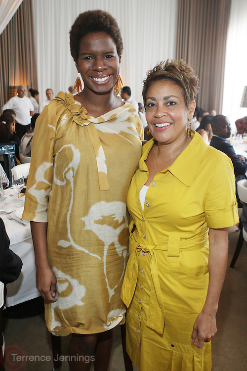 l to r: Tangie Murray and Dolly Turner at The ABFF Luncheon Hosted by HSBC and Rush Philanthropic Arts held at The Delano in Miami Beach on June 27, 2009..The American Black Film Festival is an industry retreat and competitve marketplace for films and by and about people of color.