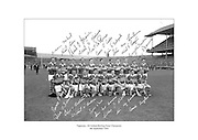 Signed team shot of Tipperary hurling team, 1964 All Ireland Champions.