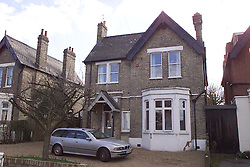 Teresa Gorman's old house in Hopton rd, Streatham, London..Teresa Gorman faces one month suspension from the commons , February 17, 2000. Photo by Andrew Parsons / i-images..