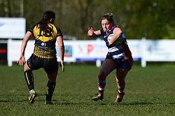 Sarah Graham of Bristol Ladies - Mandatory by-line: Dougie Allward/JMP - 26/03/2017 - RUGBY - Cleve RFC - Bristol, England - Bristol Ladies v Wasps Ladies - RFU Women's Premiership