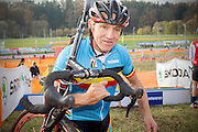 CZECH REPUBLIC / TABOR / WORLD CUP / CYCLING / WIELRENNEN / CYCLISME / CYCLOCROSS / VELDRIJDEN / WERELDBEKER / WORLD CUP / COUPE DU MONDE / #2 / BELGIAN COACH RUDY DE BIE /