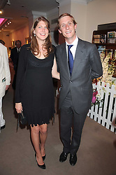 PRINCESS FLORENCE VON PREUSSEN and the HON.JAKE ASTOR at the annual Sotheby's Summer Party held at their auction rooms 34-35 New Bond Street, London W1 on 19th June 2008.<br />
