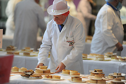 Scotch Pie Championships_Dunfermline Blcc_20-11-2019<br /> <br /> Judge Bill Montgomery<br /> <br /> (c) David Wardle | Edinburgh Elite media