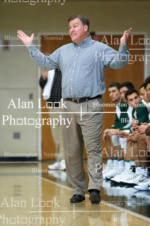 07 December 2016: Ron Rose  during an NCAA men's division 3 CCIW basketball game between the North Park Vikings and the Illinois Wesleyan Titans in Shirk Center, Bloomington IL