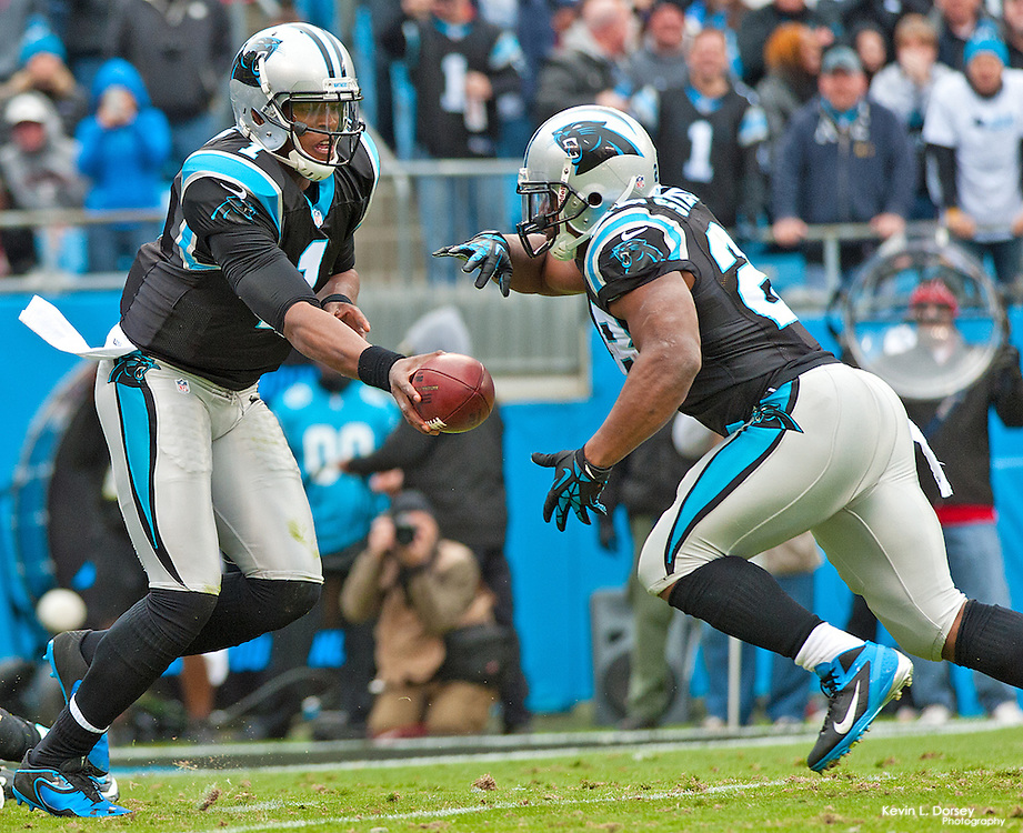 Carolina Panthers vs Tampa Bay Buccaneers<br /> <br /> Panthers lost a close game to Tampa Bay in Overtime on a Cloudy Sunday Afternoon game in November 2012.