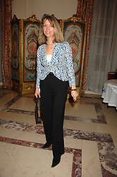 SABRINA GUINNESS at a party to celebrate the publication of The End of Sleep by Rowan Somerville held at the Egyptian Embassy, London on 27th March 2008.<br /><br />NON EXCLUSIVE - WORLD RIGHTS