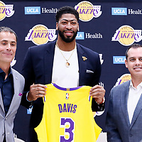 ANTHONY DAVIS PRESS CONFERENCE