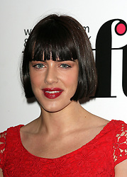 MICHELLE RYAN during the Women In Film & Television Awards 2012 held at the Hilton, London, England, December 7, 2012. Photo by i-Images.