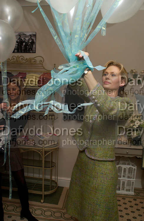 Brindle Collins, Chippi Hacki launch party.New children's clothes shop by Lady Emily Compton. 8 Motcomb St. London SW1. ONE TIME USE ONLY - DO NOT ARCHIVE  © Copyright Photograph by Dafydd Jones 66 Stockwell Park Rd. London SW9 0DA Tel 020 7733 0108 www.dafjones.com