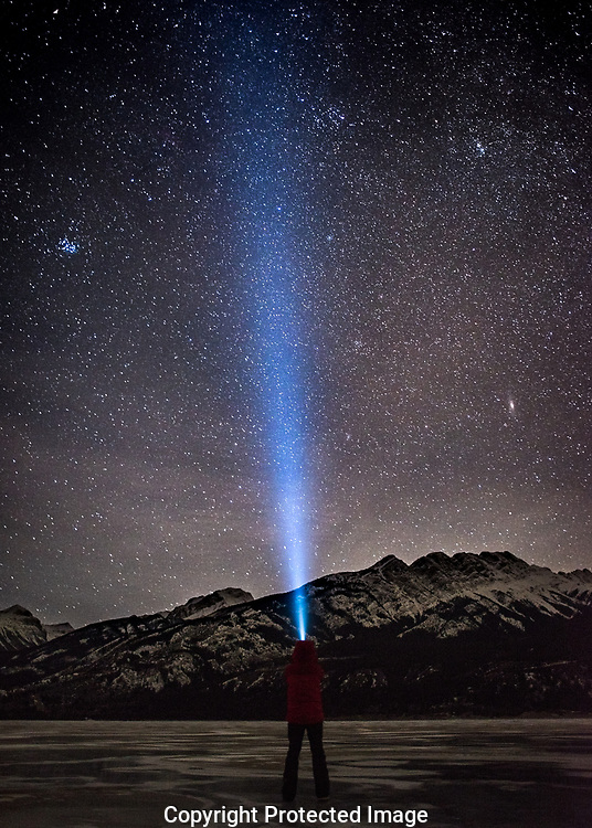 Star shots in Jasper and Nordegg., Alberta, Canada, Isobel Springett