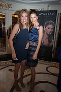 SILVIA BRUTTINI; ANNALISA STEVENS; , The Foreign Sisters lunch sponsored by Avakian in aid of Cancer Research UK. The Dorchester. 15 May 2012