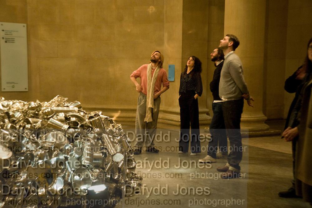 LIZZIE CARY-THOMAS; MARK LECKEy, Altermodern, Tate Triennial 2009, Tate Britain. London. 2 February 2009 *** Local Caption *** -DO NOT ARCHIVE-© Copyright Photograph by Dafydd Jones. 248 Clapham Rd. London SW9 0PZ. Tel 0207 820 0771. www.dafjones.com.<br /> LIZZIE CARY-THOMAS; MARK LECKEy, Altermodern, Tate Triennial 2009, Tate Britain. London. 2 February 2009