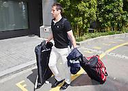 Switzerland's U21 soccer player Mario GAVRANOVIC arrives at the Renaissance hotel in Zurich, Switzerland, Tuesday, June 7, 2011. The Swiss team attends the UEFA Under-21 (U21) Championship tournament in Denmark. (Photo by Patrick B. Kraemer / MAGICPBK)