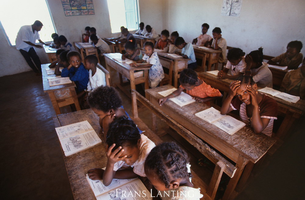 School children, Southern Madagascar