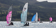 Largs Regatta Festival 2018<br /> <br /> Day 1 - RS200 Fleet downwind<br /> <br /> Images: Marc Turner