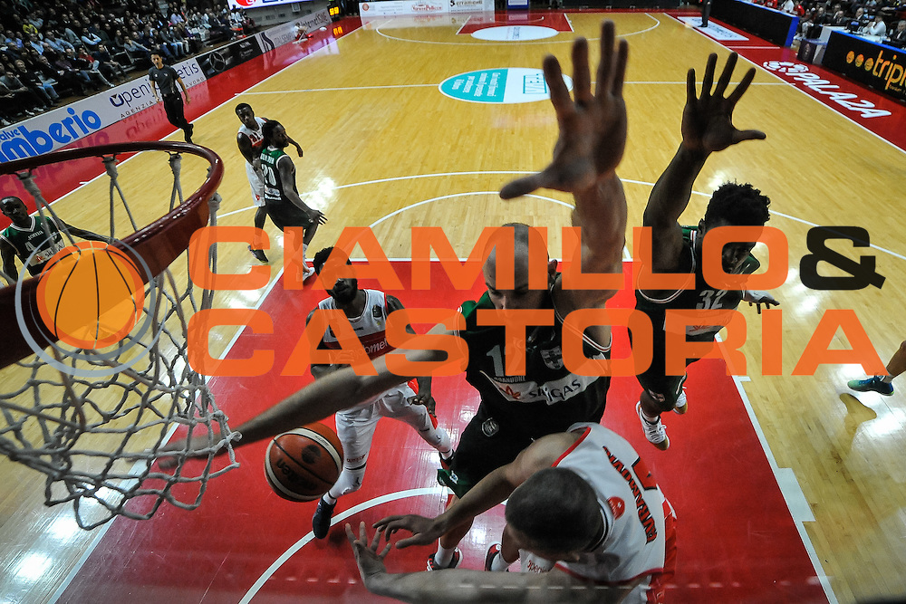 Green Marques, Cusin Marco<br /> Openjobmetis Varese - Sidigas Avellino<br /> Basket Fiba Champions 2016/2017<br /> Desio 06/11/2016<br /> Foto Ciamillo-Castoria